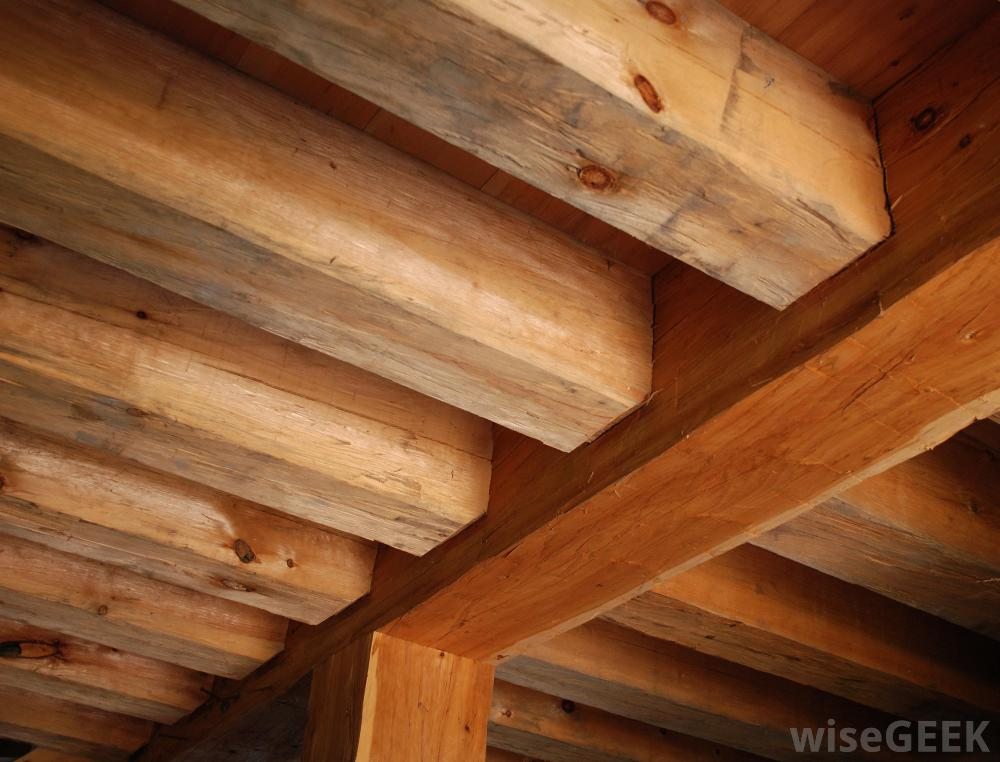 Solid Pine And Spruce Beams Top Timber